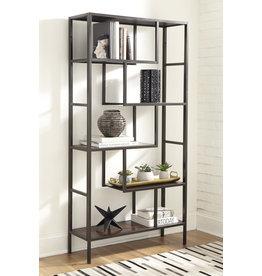 """Signature Design Bookcase """"Frankwell"""" Brown/Black A4000021"""