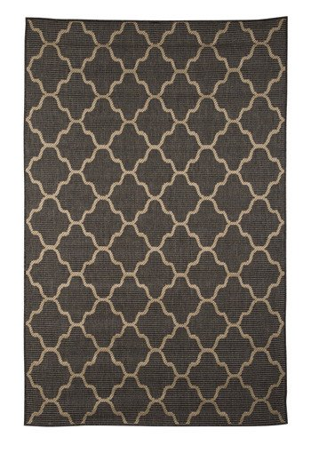 "Signature Design Daponte Large Rug - Gray, 90""X120"" R400381"