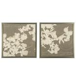"Signature Design Baibre Wall Art Set (2/CN) - Cream/Taupe 29.13"" X 29.13"" A8000134"