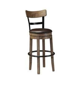 Signature Design Pinnadel, tall UPH swivel bar stool D542-130