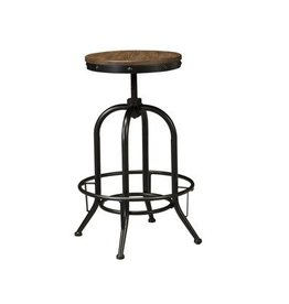 Signature Design Pinnadel, tall swivel stool D542-230