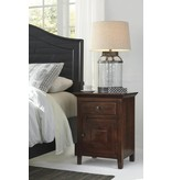 Signature Design Charlowe Night Stand - Warm Brown B013-792