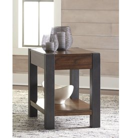 Signature Design Heidiho Chair Side End Table - Light Brown T898-7