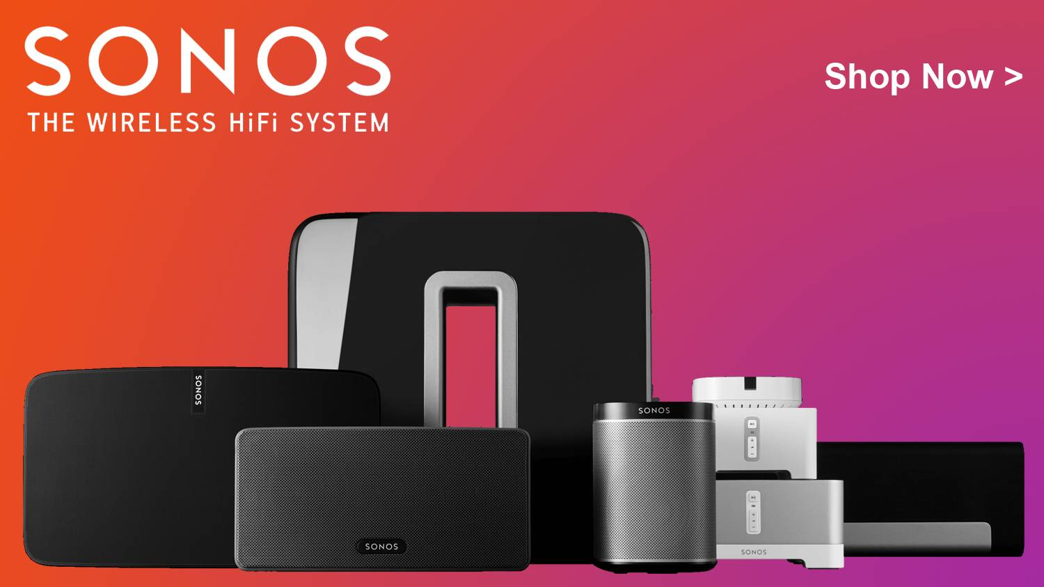 Sonos The Wireless Hi-Fi System
