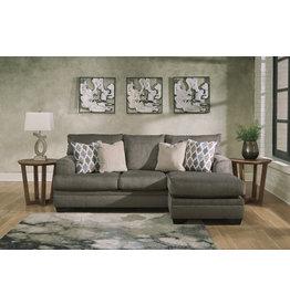 "Signature Design ""Dorsten"" Reversible Sofa Chaise- Slate- 7720418"