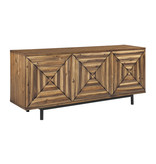 "Signature Design A4000032 ""Fair Ridge"" Accent Cabinet- Warm Brown"