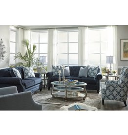 Signature Design LaVernia Sofa - Navy 7130438