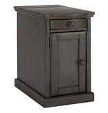 "Signature Design ""Laflorn"" Chairside End Table- Gray- T127-485"