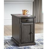 "Signature Design ""Laflorn"" Chairside End Table- Gray- T127-485"