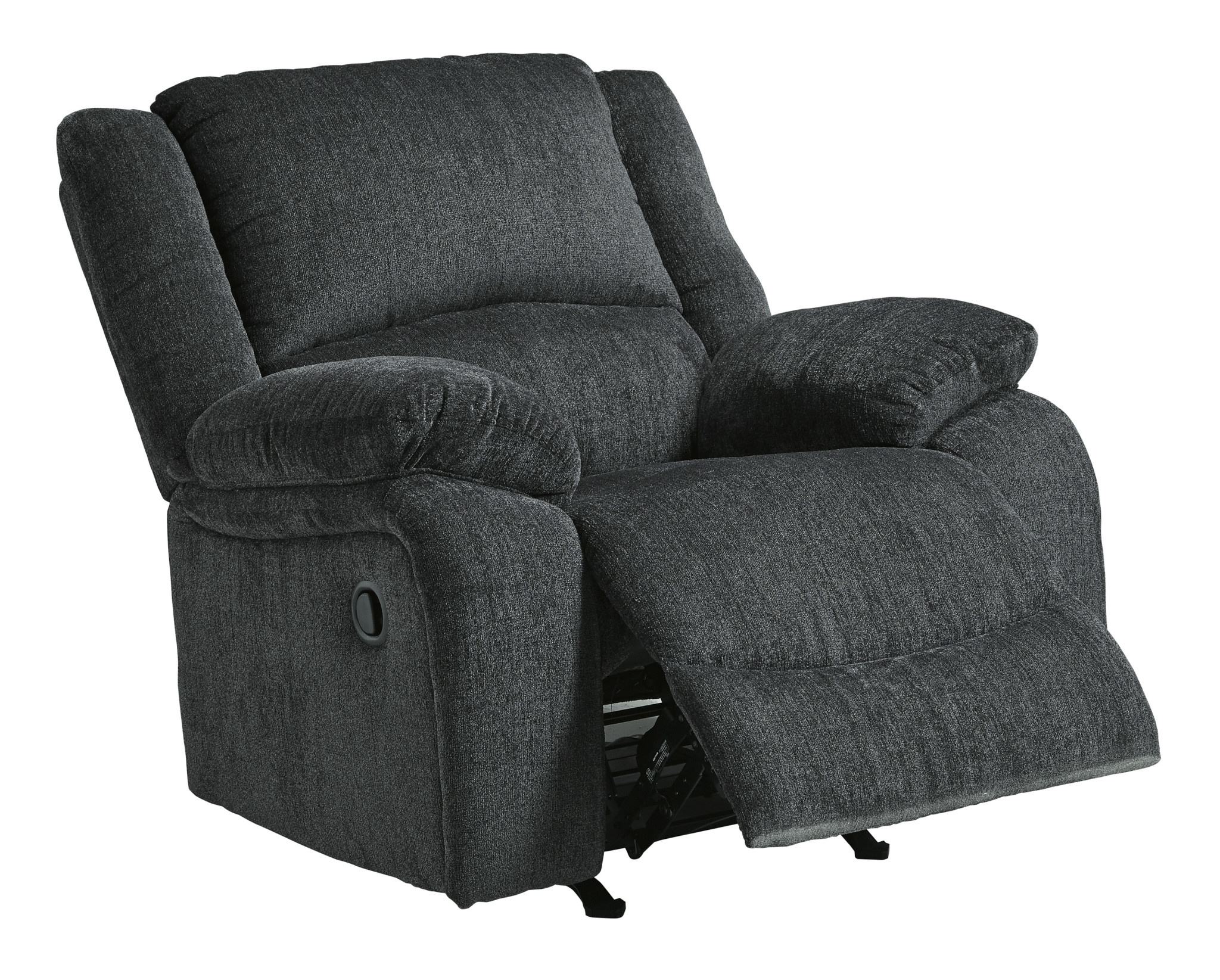 """Draycoll"" Power Rocker Recliner- Slate Color- 7650498"