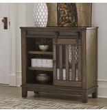 "Signature Design ""Brookport"" Accent Cabinet- Brown- A4000130"