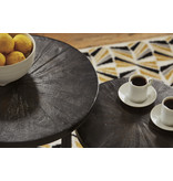 "Signature Design ""Esterdale"" Accent Tables Set of 2- Brown/Black A4000242"