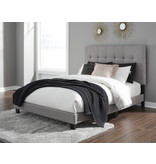 "Signature Design KING Gray Complete Bedframe ""Adelloni""- Gray B080-582"