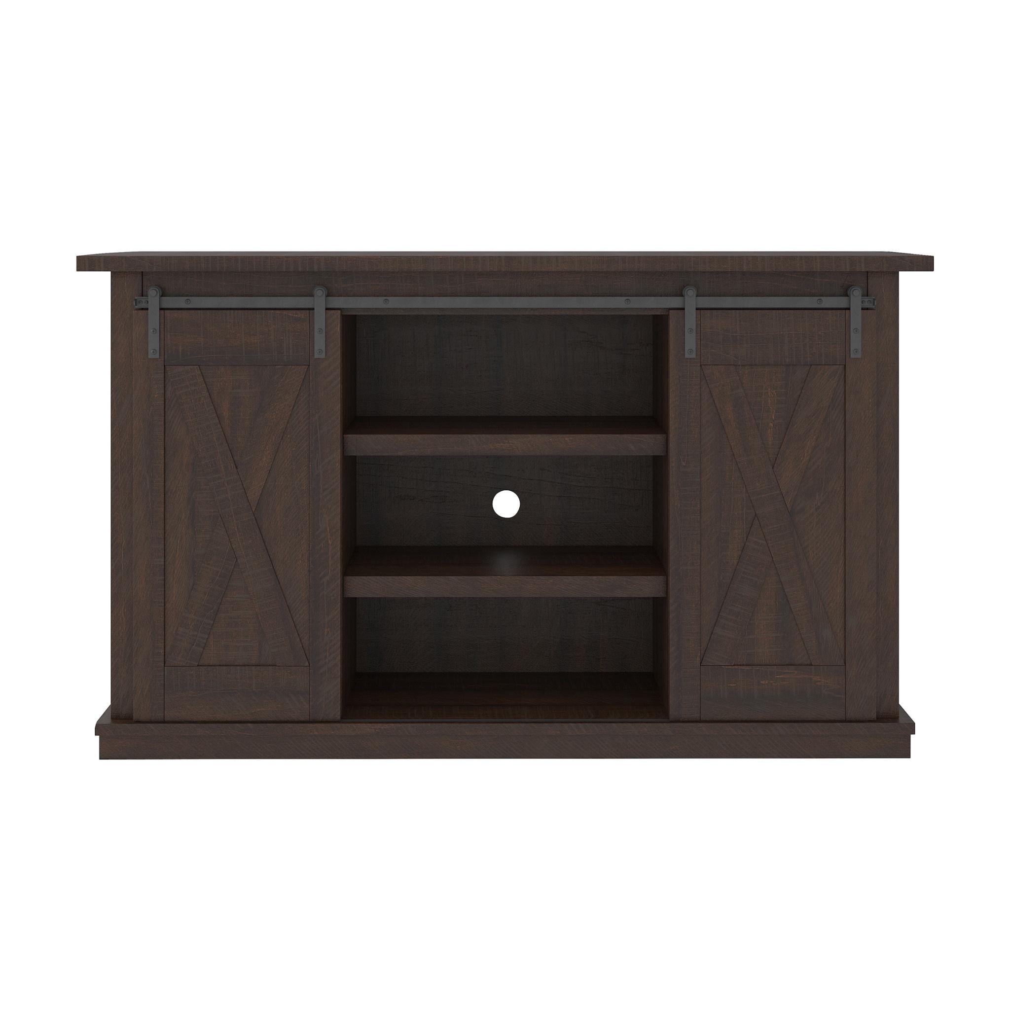 """Signature Design """"Camiburg""""- Medium TV Stand- Warm Brown- W283-48"""