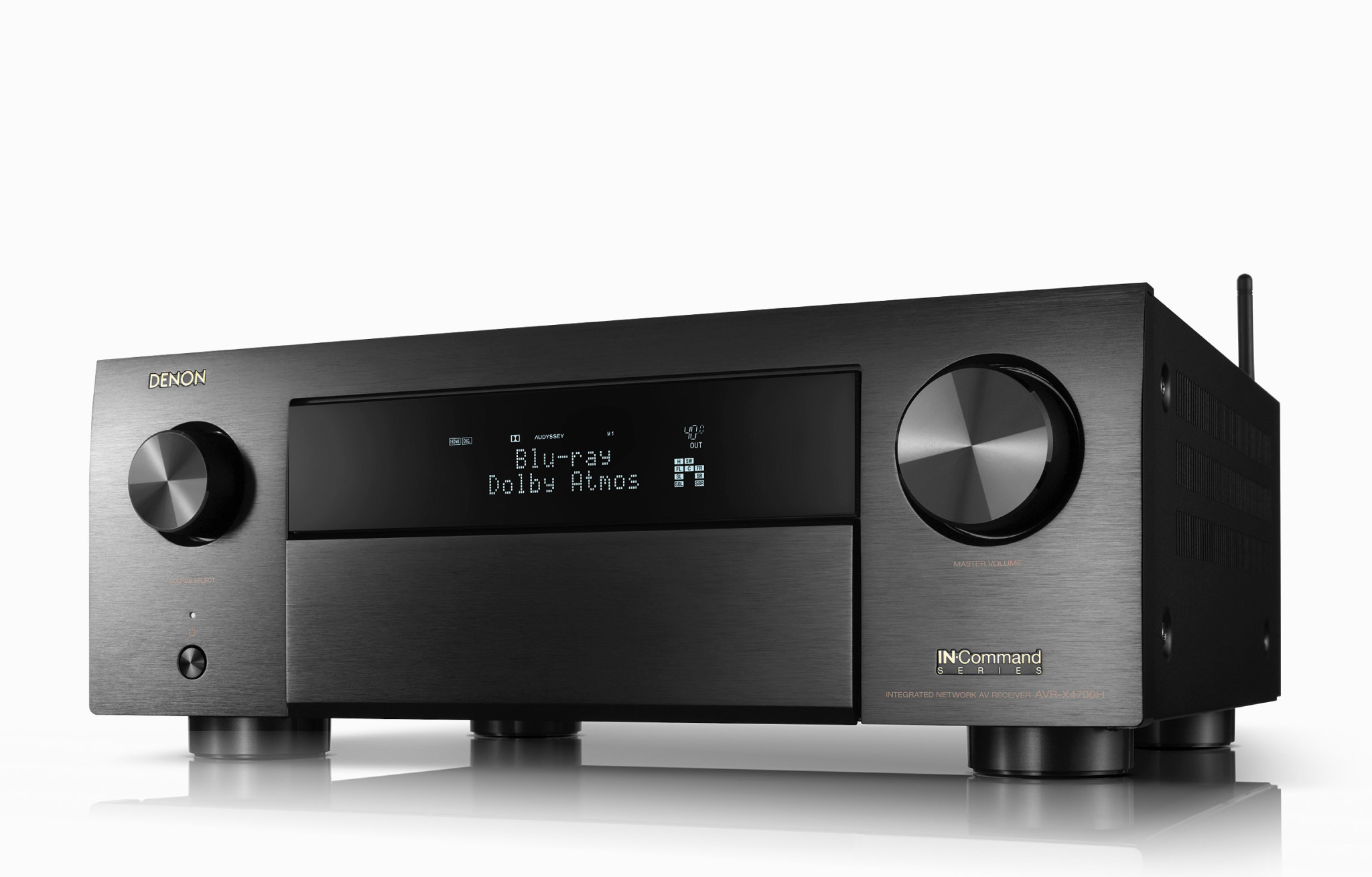 Denon Denon AVR-X4700H 9.2ch 8K AV Receiver with 3D Audio and HEOS