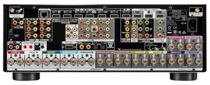 Denon Denon AVR-X4700H 9.2ch 8K AV Receiver with 3D Audio and HEOS