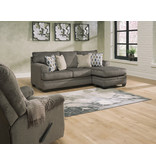 "Signature Design ""Dorsten"" Reversible Sofa Chaise- Slate Color- 7720418"