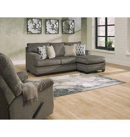 """Signature Design """"Dorsten"""" Reversible Sofa Chaise- Slate Color- 7720418"""