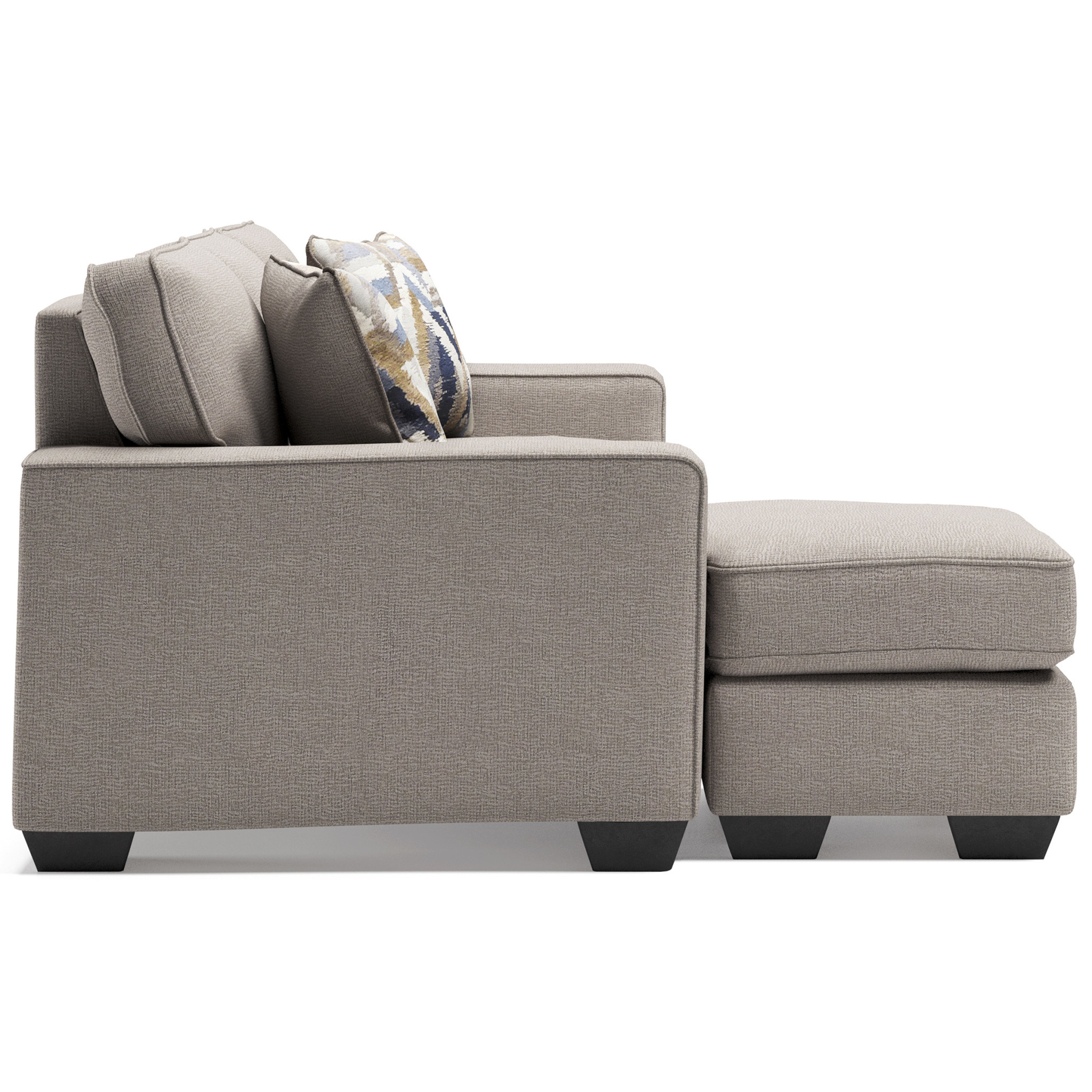 """Benchcraft """"Greaves"""" Reversible Sofa Chaise- Stone Color 5510418"""