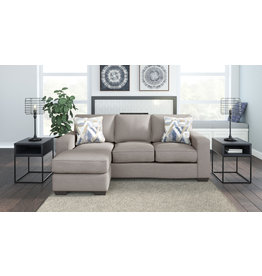 "Benchcraft ""Greaves"" Reversible Sofa Chaise- Stone Color 5510418"