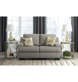 """Benchcraft """"Mandee"""" Loveseat- Pewter Color- 9340435"""
