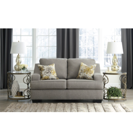"Benchcraft ""Mandee"" Loveseat- Pewter Color- 9340435"