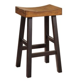 Signature Design Glosco Tall Stool  - Two-tone D548-030