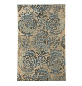 Signature Design Alazne Medium Rug - Blue/Ivory 5' X 8' R400772