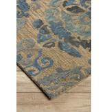 Signature Design Alazne Medium Rug - Blue/Ivory 5' X 8' R400772