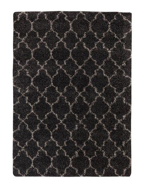 """Signature Design Gate Medium Rug - Black 5'3"""" X 7' 5"""""""