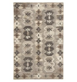 Signature Design Porcinni Medium Rug - Gray 5' X 8' R401522
