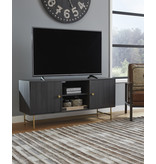 "Signature Design ""Yarlow"" Large TV Stand- Black- W215-48"