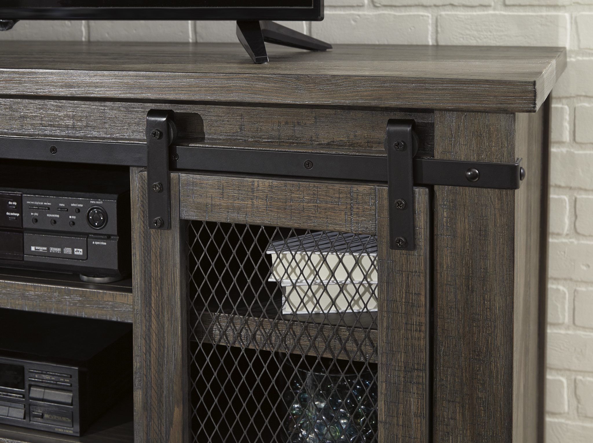 "Signature Design ""Danell Ridge"" Large TV Stand- Brown W556-48"