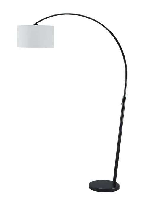 Signature Design Shawny Metal Arc Lamp (1/CN) - Black