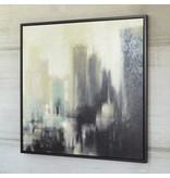 Signature Design Dyami Wall Art - Black/Gray/Ivory
