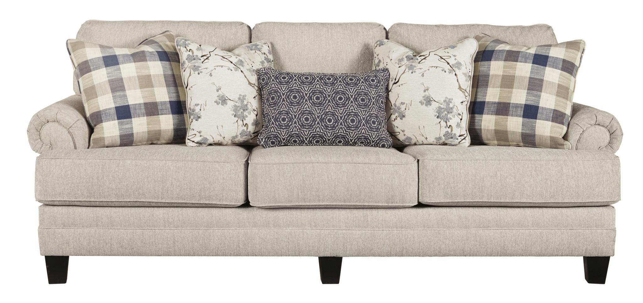 "Benchcraft ""Megget"" Sofa- ""Linen"" Color 1950438"