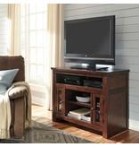Signature Design Harpan TV Stand - Reddish Brown, W797-18
