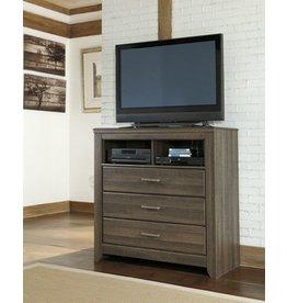 Signature Design Juararo Media Chest - Dark Brown B251-39