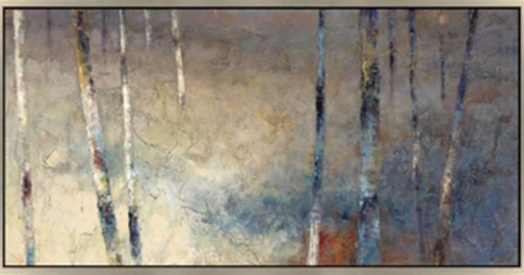 A8000204 Framed Artwork- Trees