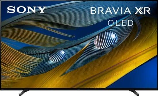 "Sony Sony - 77"" Class BRAVIA XR A80J Series OLED 4K UHD Smart Google TV"