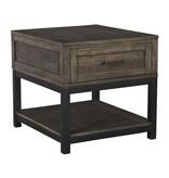 Signature Design Johurst End Table- Grayish Brown- T444-3