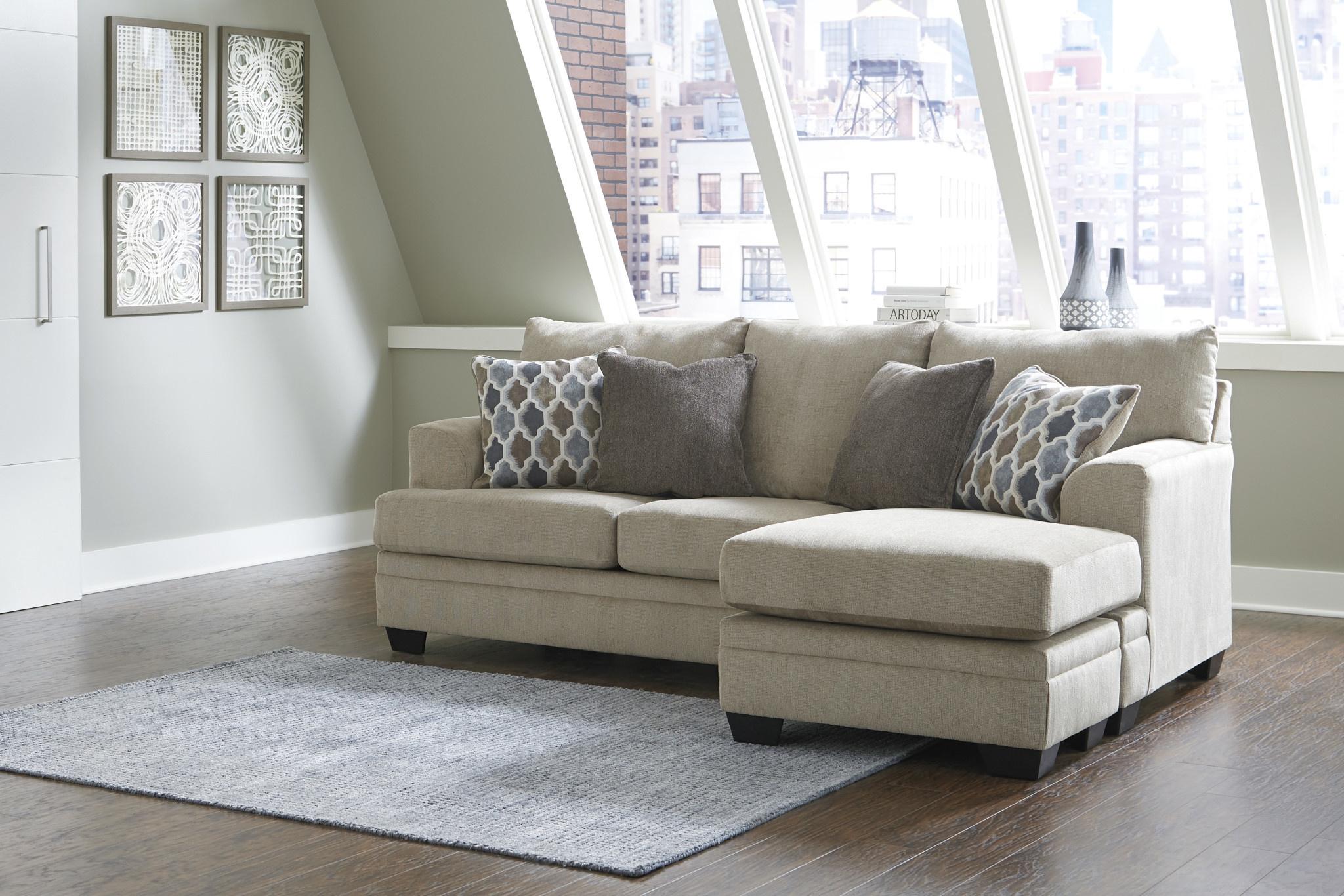 "Signature Design ""Dorsten"" Reversible Sofa Chaise- ""Sisal"" Color- 7720518"