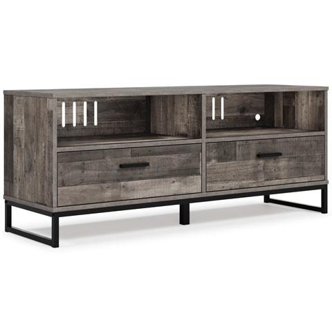 """Signature Design """"Neilsville"""" Medium TV Stand- Multi Gray- EW2120-168"""