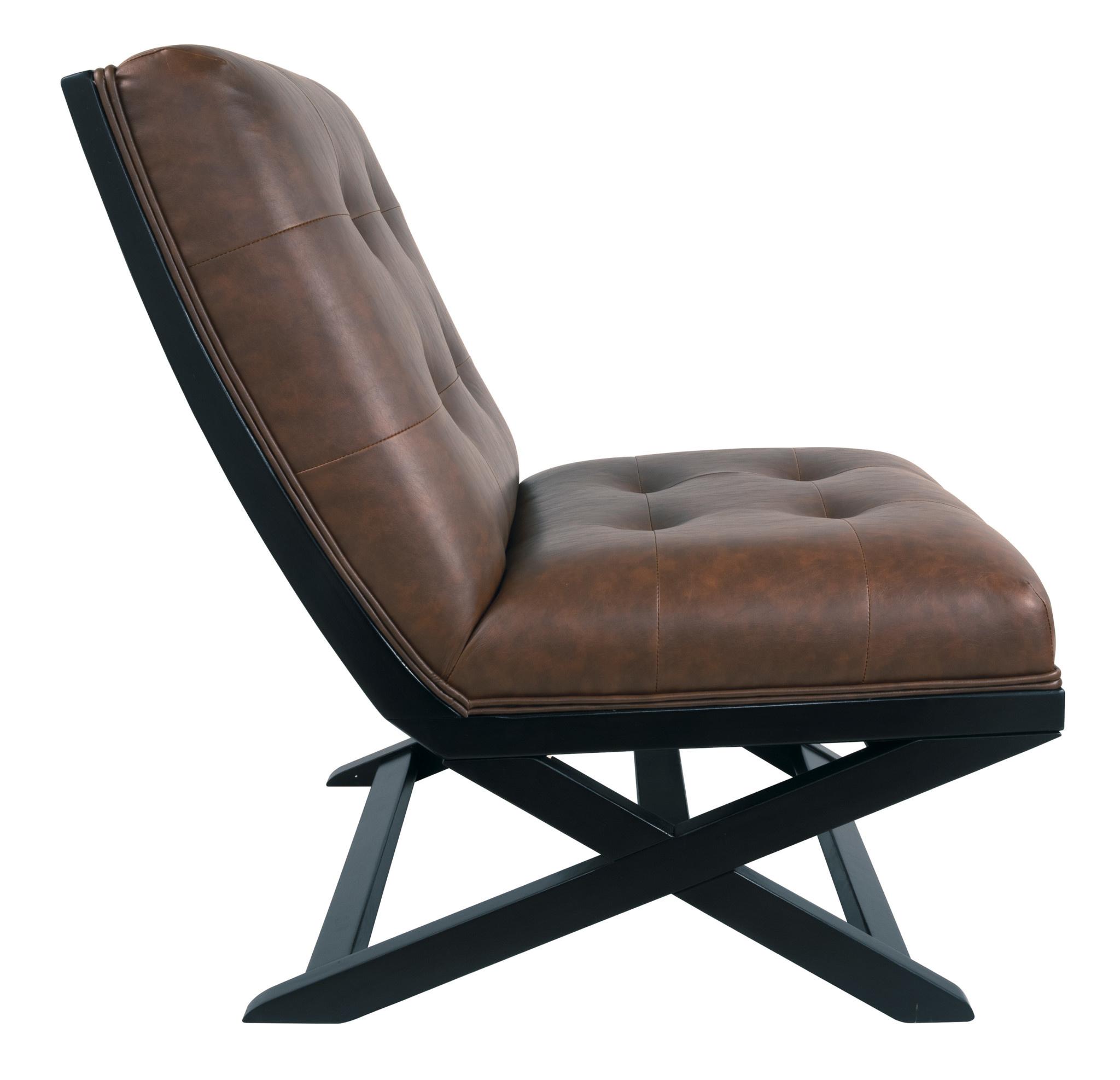 "Signature Design ""Sidewinder"" Accent Chair- Brown- A3000031"