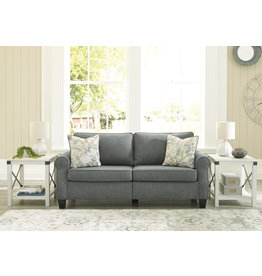 "Signature Design ""Alessio"" Sofa- Charcoal- 8240538"