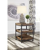 Signature Design Viggani Two-Tone Square End Table T940-2