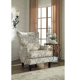 Signature Design Avelynne, Accent Chair, Ocean 8130221