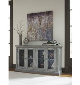 Signature Design Door Accent Cabinet, Mirimyn, Antique Gray T505-662
