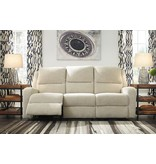 Signature Design Krismen, Power Reclining Sofa with Power Adjustable Headrest 7810315