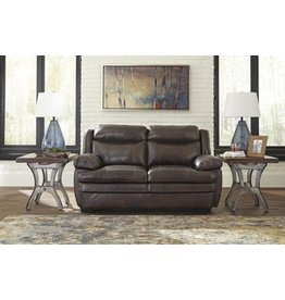 Signature Design Hannalore Leather Loveseat 1530435